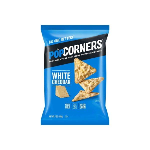 POPCORNERS 爆米花脆薯片 白奶酪口味 198g