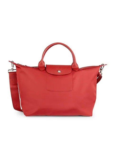 Neo Leather-Trim 饺子包