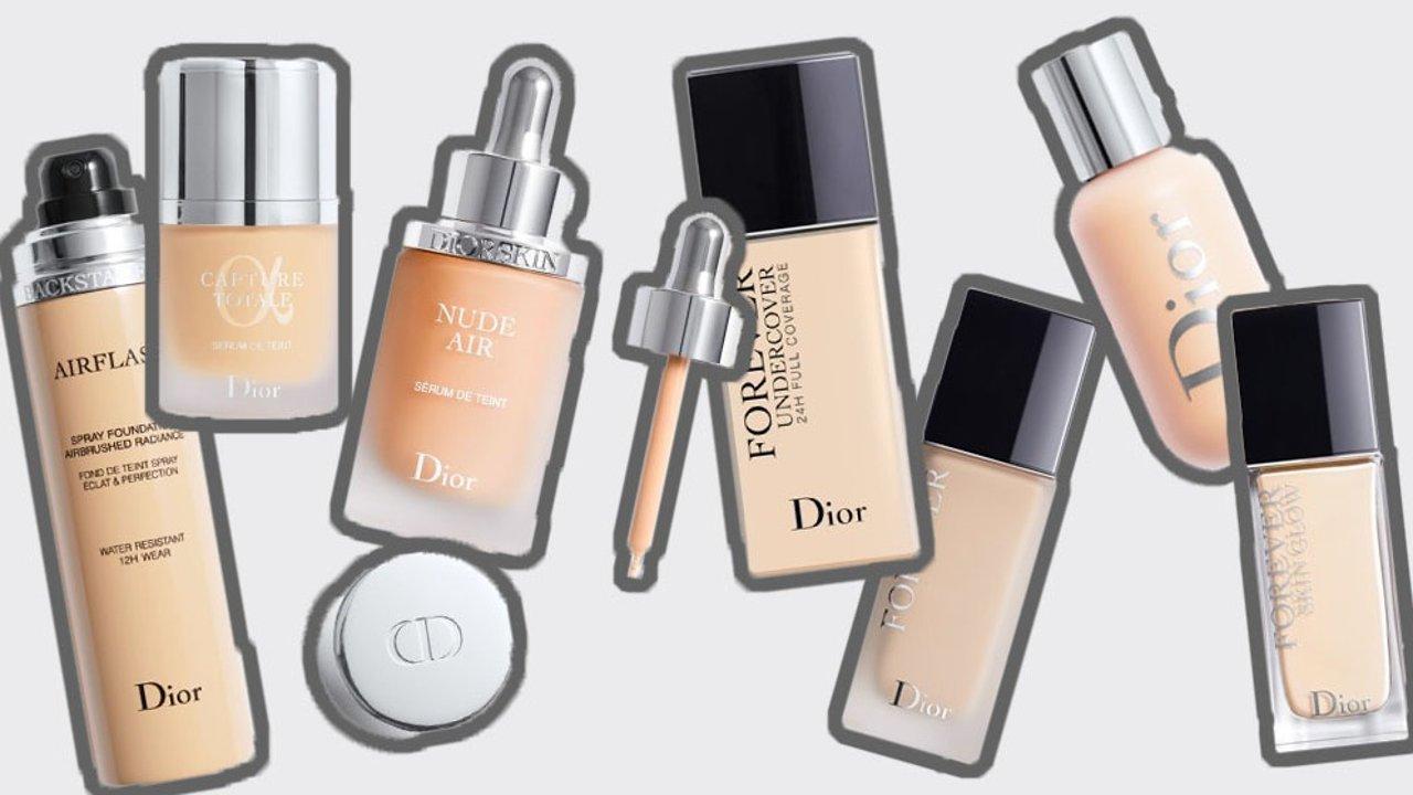 科普贴!Dior七款粉底液区别,附选色号建议