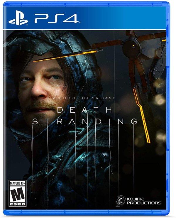 《死亡搁浅》 PS4 实体版 TGA 2019 年度游戏提名
