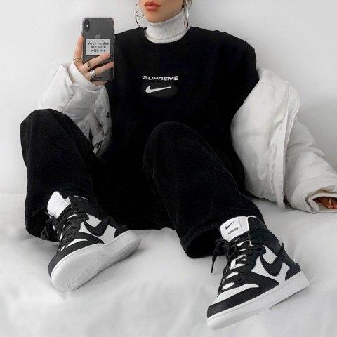 Nike 女款特价区潮流服饰、鞋履 邓紫棋同款$28