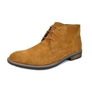 For $31.99 Bruno Marc Men's Suede Boots @Amazon.com