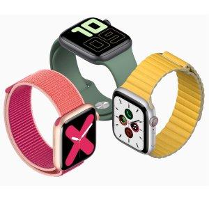 GPS版€449起 蜂窝网络版€549起Apple Watch Series 5 正式发售 全新钛合金表壳