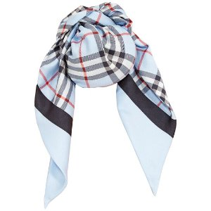 Burberry丝质围巾