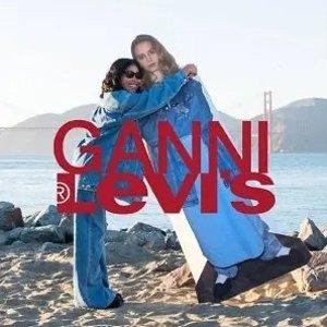 €95起新品速收新品上市:LEVI'S® X GANNI 联名款服饰上架 街潮风与复古淑女风碰撞