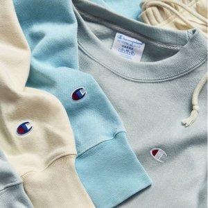 低至6折+包邮Nordstrom官网 Champion品牌运动卫衣、裤装促销