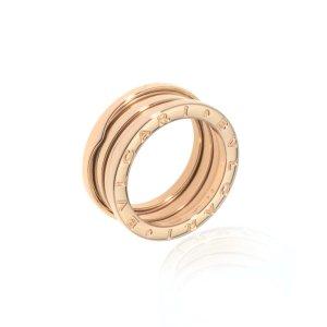 Bvlgari18k Rose Gold B Zero Ring Sz 7 AN852405-54