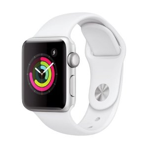 AppleSilverWatch Series 3 GPS - 38mm - Sport Band - Aluminum Case