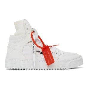 Off-White晒货同款Off-Court 3.0 女款帆布鞋