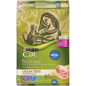 Purina Cat Chow 纯天然鸡肉味无谷猫粮 13lb