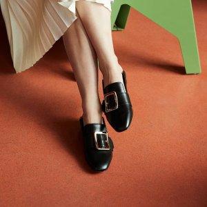 低至5折 经典白色Malinda£270Bally官网精选乐福鞋秋冬大促 Malinda,Janelle日常必备