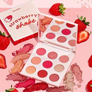 变相8.2折起 封面眼影$14Colourpop 草莓系列彩妆护肤 可爱出汁,甜美系女孩必入