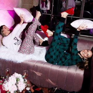 $39.5(Org.$59.5) + Free slipperMost-love PJ sets @ Victoria's Secret