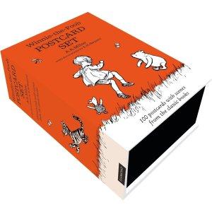 封面小熊维尼£11.99收100张亚马逊精选明信片 母亲节记得手写卡片 送给你的女神呀