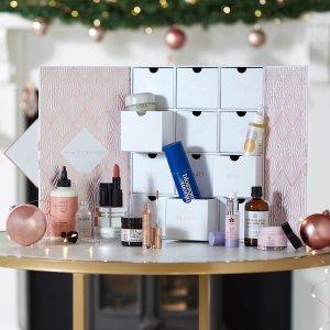 变相1.7折 仅售€91(价值€525+)黑五开抢:Beauty Expert 2020圣诞日历大促 12件正装单品超值收