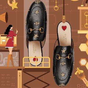 变相5.8折 黄金码全!手慢无:Gucci 经典鞋专场 双G乐福、穆勒、老爹鞋都有