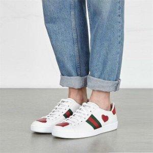 宋茜、杨幂都在穿的小白鞋黄金码全!Gucci 最新美鞋全面上架 最火爆款码数超全 快速时尚达人小秘密