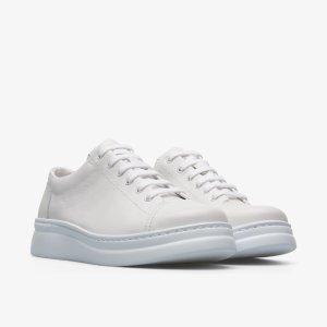 女款厚底小白鞋
