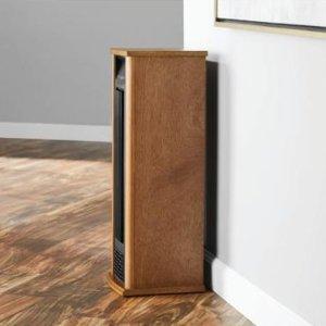 Mainstays Infrared Quartz Wood Pedestal
