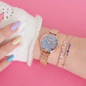 7折 收猫头鹰手表Olivia Burton 英伦风手表配饰热卖 找到属于你的少女心