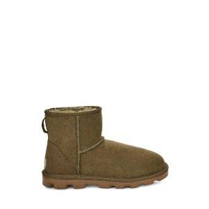 UGG Australia额外8.5折雪地靴 棕绿色