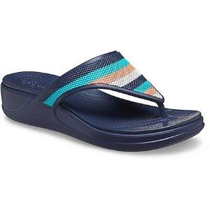 Crocs坡跟凉鞋