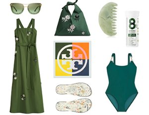 As low as $78Tory Burch Its Easy Being Green