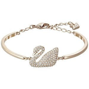 abdf4a7d3 SwarovskiGet $20 off $150 purchase.| Swan Bangle, White, Rose Gold Plating