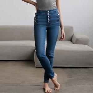 变相3.4折起 低至€83.3可收J Brand 清仓超低价 明星最爱超显瘦的牛仔裤 穿它人均超模腿