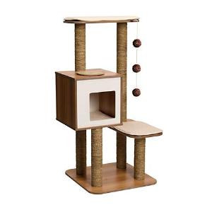 低至6.3折 + 额外8折Vesper 精美木质猫爬树、猫抓板等促销热卖