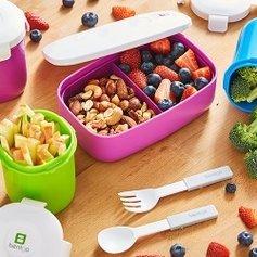 $11.99收双层午餐盒Bentgo 防漏儿童午餐盒促销 款式多样,多色可选