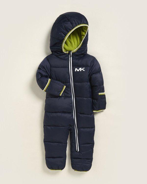 小童连身保暖棉服