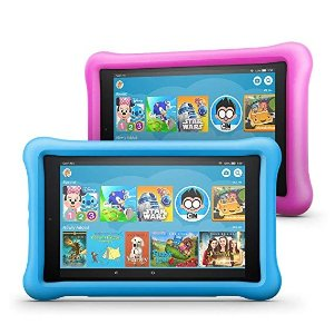 Amazon史低价All-New Fire HD 8 儿童智能平板32 GB, 2个