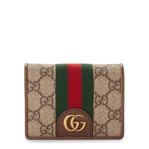 GucciBeige GG 短钱包