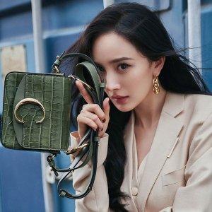 杨幂封面同款¥8000+ 包税免邮中国Chloe 美包立享7.8折,Faye ¥4000+,Drew ¥8000+