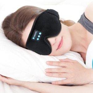 $22.09(原价$39.99)LC-dolida 新款蓝牙3D音乐睡眠眼罩 高效入眠保持好状态