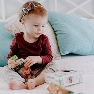 低至7折 + 额外9.5折 + 包邮Sprout 有机婴儿辅食、零食促销