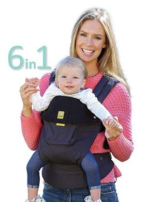 Lillebaby 6合1 COMPLETE Original全季节人体工学透气婴儿背带