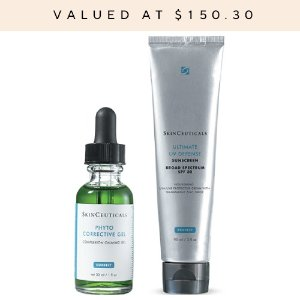 SkinCeuticals送8件套色修套装 30ml(价值$150)