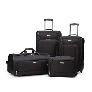 $69.99 (原价$119.99)American Tourister 牛津布软面行李箱4件套