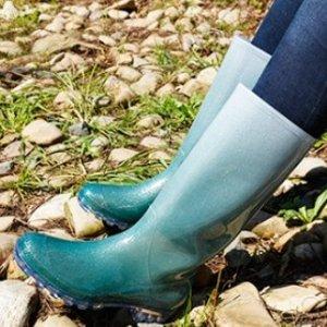 As low as $15.99KomForme Women' s Knee High Waterproof Rain Boots