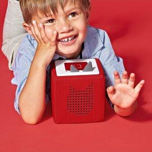 8折 超长待机,防水抗震Tonie 儿童专业级音乐播放器/早教机 德国红点最佳设计产品