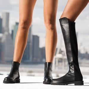 低至1.5折+免邮 高跟鞋$85Stuart Weitzman 美鞋专场 5050过膝靴$399,一字带凉鞋$117
