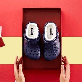 $8.99起 亲子鞋配起来Crocs 儿童洞洞鞋特卖 穿脱容易,宝宝自己穿不费力
