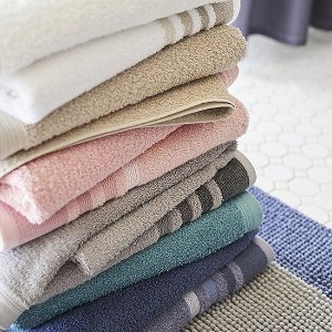 Home ExpressionsSolid or Stripe Bath Towel Collection
