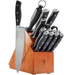 $69.91比黑五低:JA Henckels International 单立人 15件套刀具