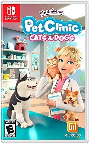 我的领域:宠物诊所- 猫和狗 Switch 实体版
