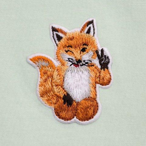 全场8.5折 T恤$72收Maison Kitsuné 新品大促 小狐狸在线卖萌 等你带回家