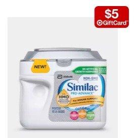 Buy 2 get a $5 gift cardFormula Powder、baby wipes Sale @ Target