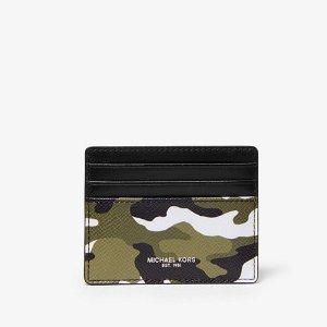 Michael Kors迷彩卡包